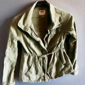 Light army jacket